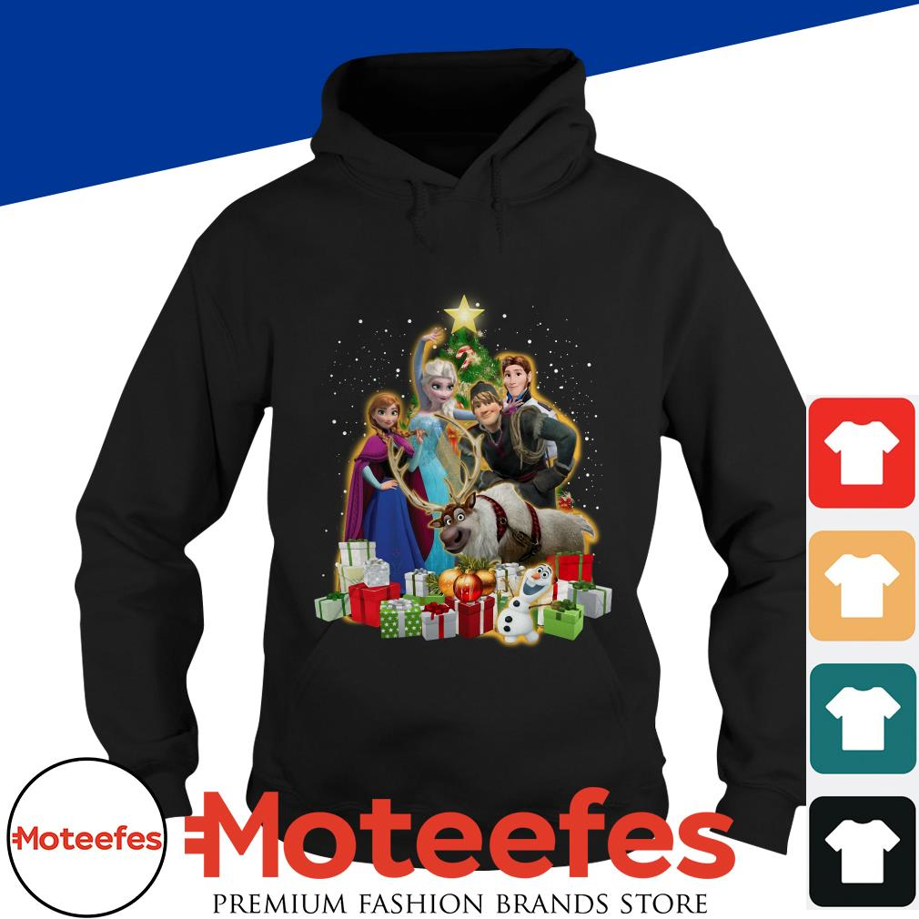 Disney Frozen Characters Christmas Tree t-shirt, hoodie, sweater and longsleeve tee