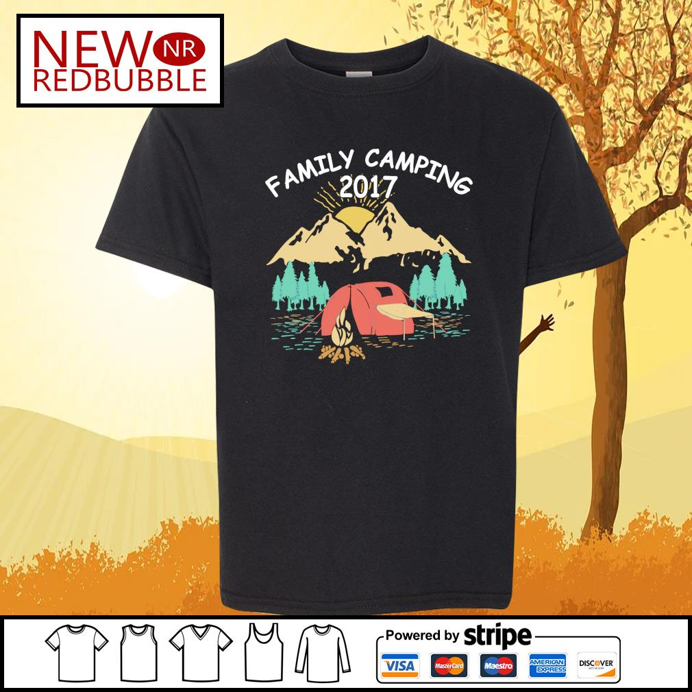 Family camping 2017 s Kid-T-shirt