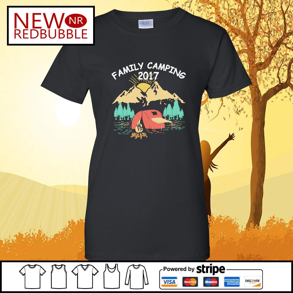 Family camping 2017 s Ladies-Tee