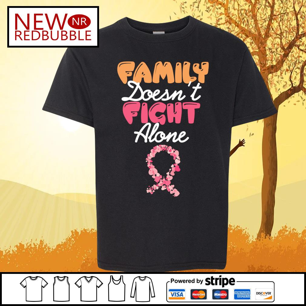 Family doesn't fight alone s Kid-T-shirt