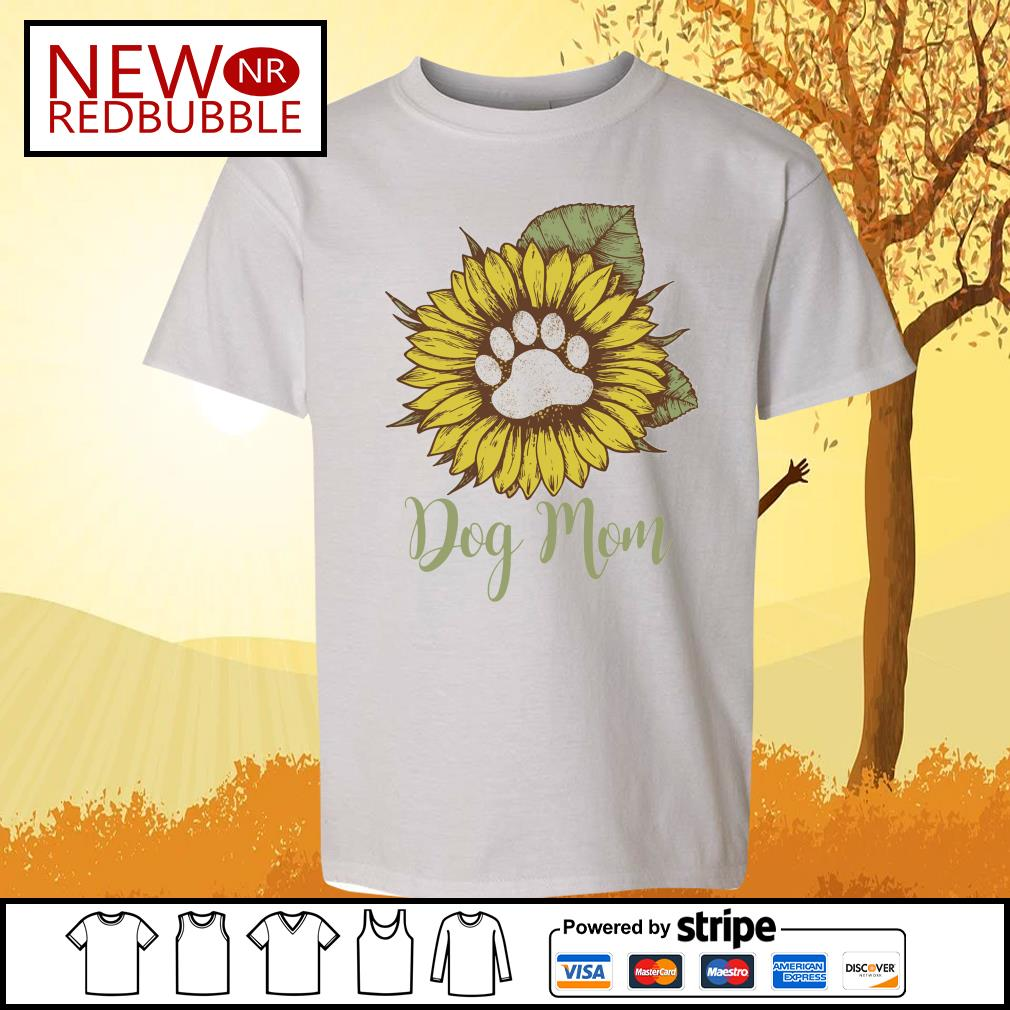 Sunflower dog mom s Kid-T-shirt