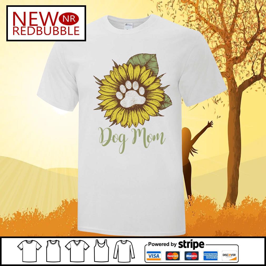 Sunflower dog mom shirt
